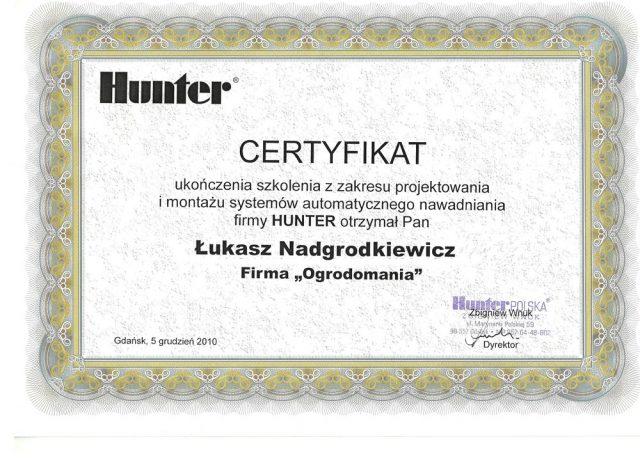 Hunter - Systemy nawadniania