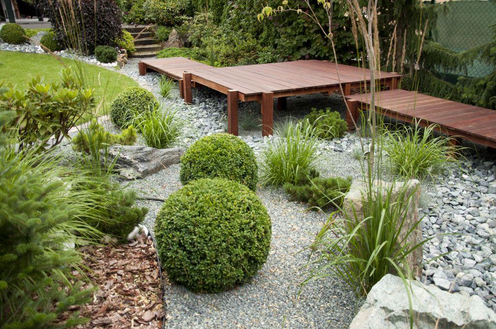 Ogród japonizujący