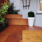 Taras i donice drewniane