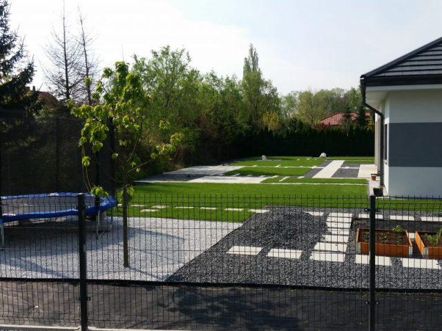 Ogród nowoczesny we Wrocławiu