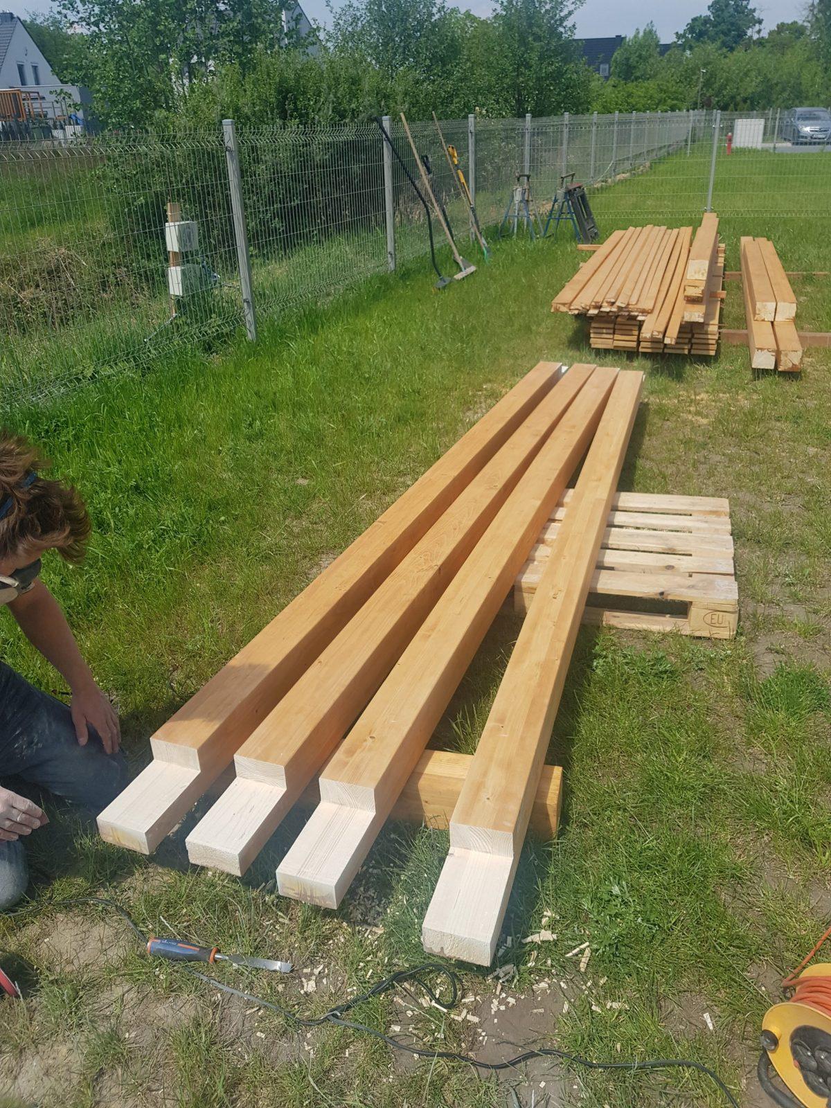 Przygotowanie drewna BSH