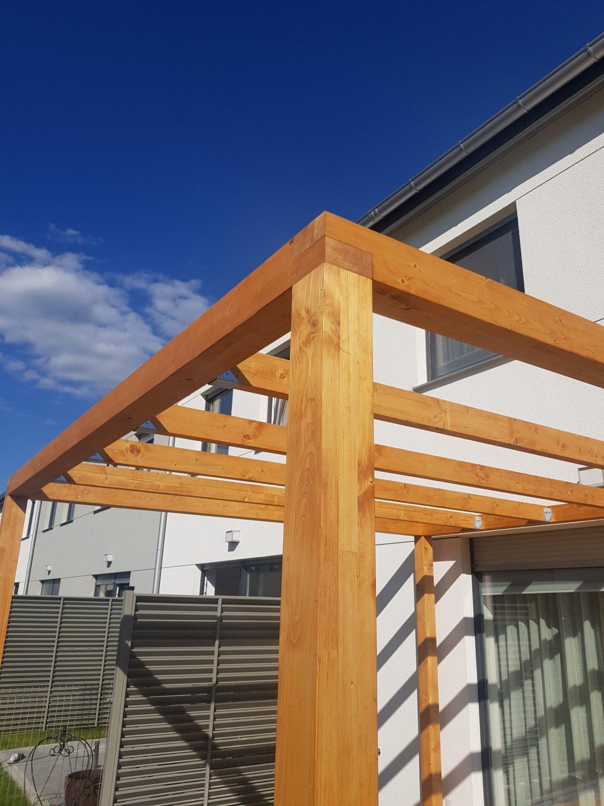 Detal - łączenie drewna