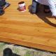 Olejowanie desek drewnianych