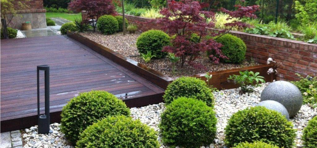 duży ogród