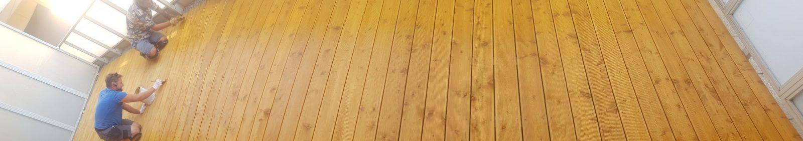 Pielęgnacja tarasu drewnianego