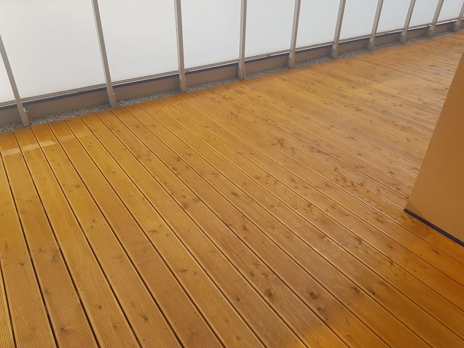 Deska tarasowa pomalowana