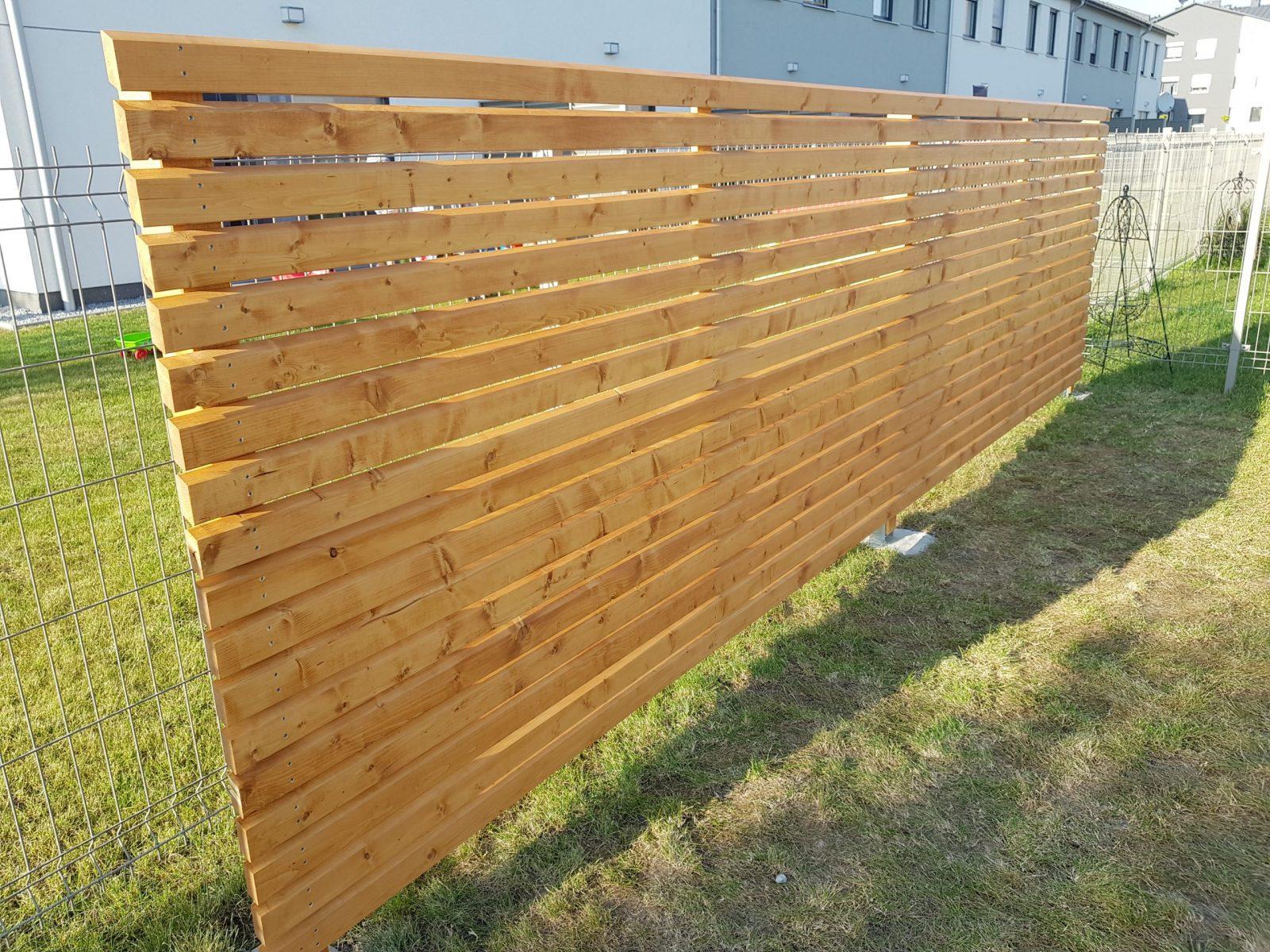 ażurowe panele drewniane