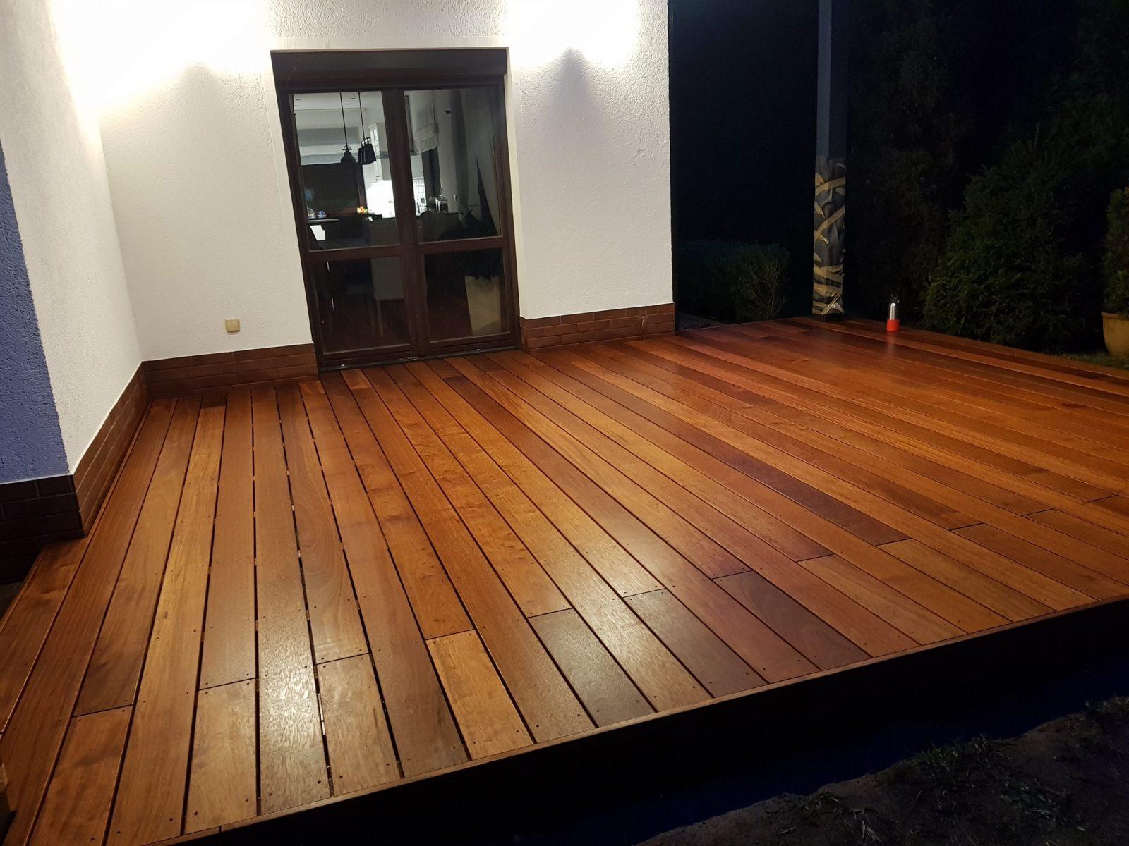 Merbau - drewniany taras
