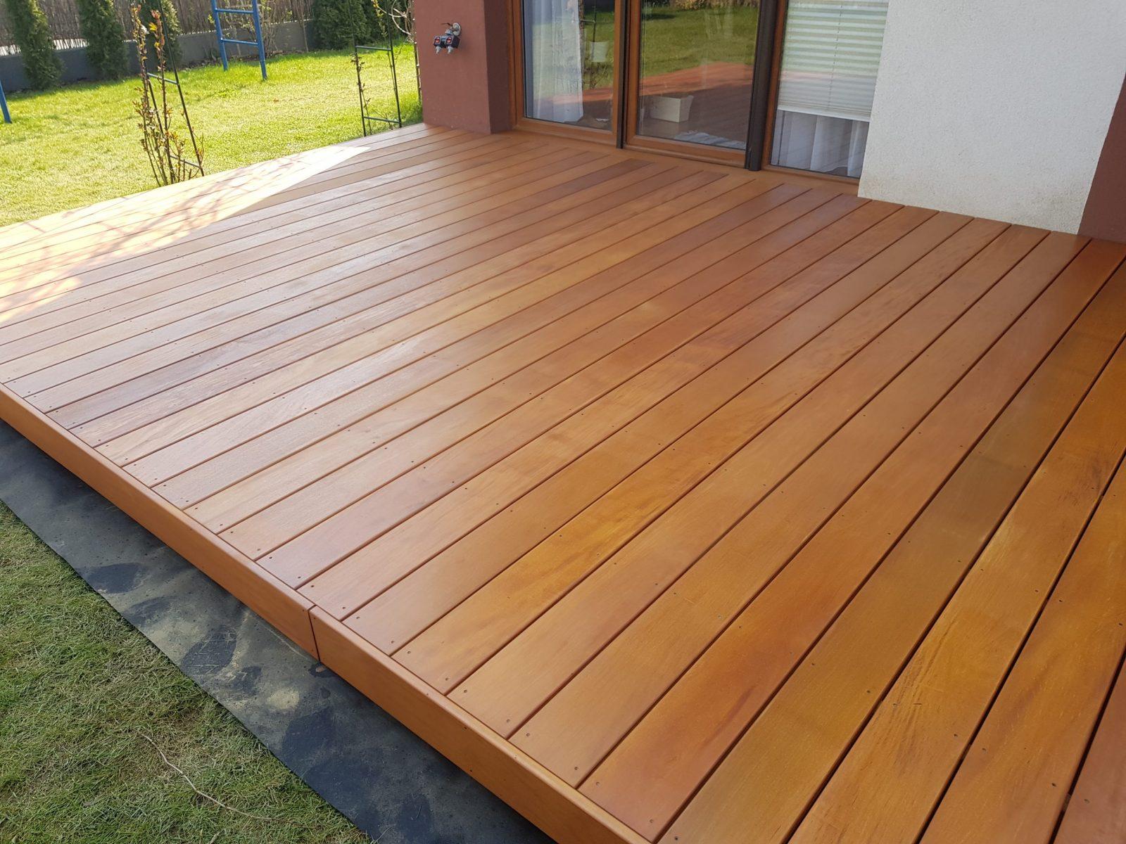 Taras drewniany Garapa